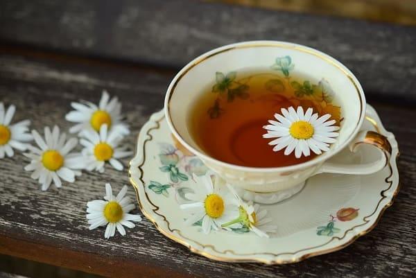 การดื่มชา