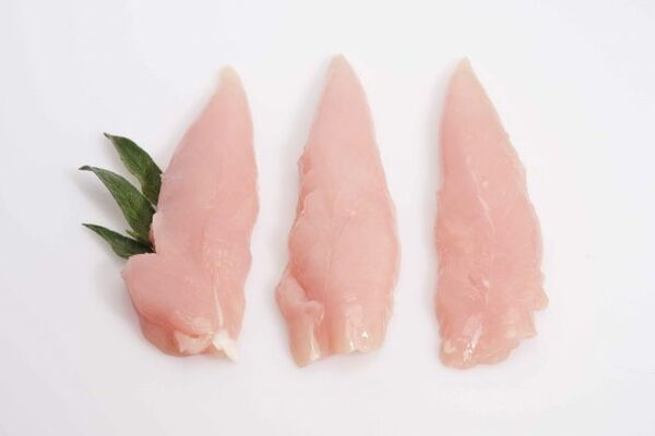 สันในไก่ เป็นเนื้อส่วนที่ใกล้เคียงกับเนื้ออกไก่ แต่มีความนุ่มมากกว่า